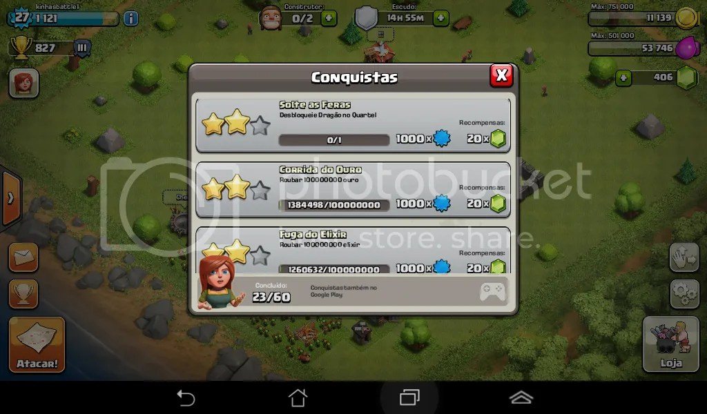 CoC Conquistas - Game Review: Clash of Clans: altamente viciante (iOs / Android)