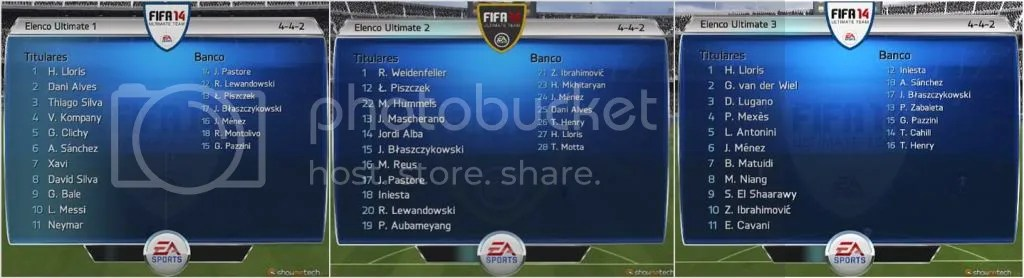 Fifa Escalacao Ultimate Team - Jogamos: FIFA 14 (versão demo)