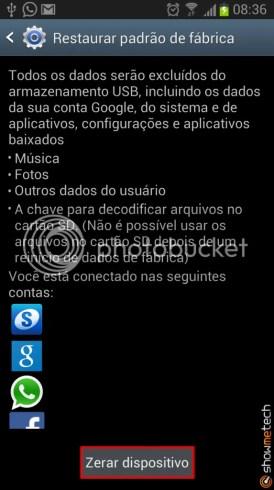 Formatando Galaxy Note II - Passo 04