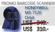 Barcode Scanner Metrologic MS7120