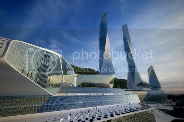 Penang global city malaysia, gedung unik dunia