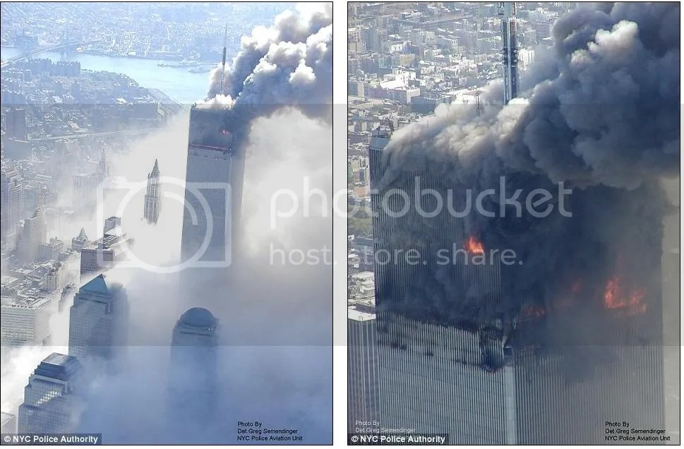 foto foto serangan teroris di nwe york gedung wtc 11 september