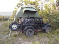 Roof Rack + Tents for 2 door - AUSJEEPOFFROAD.COM Jeep ...