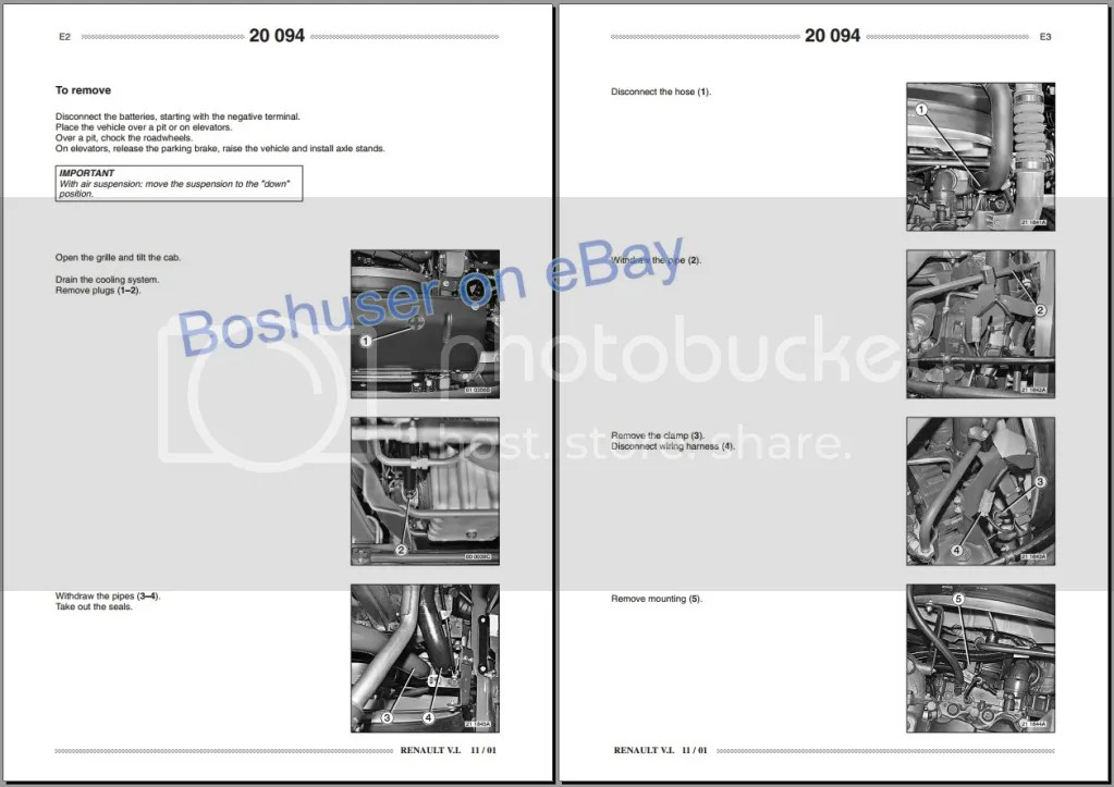 RENAULT PREMIUM TRUCK LORRY WORKSHOP SERVICE REPAIR MANUAL