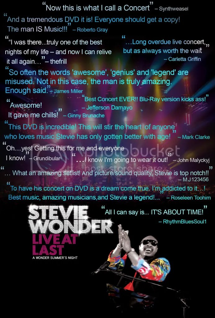 Stevie Wonder - DVD