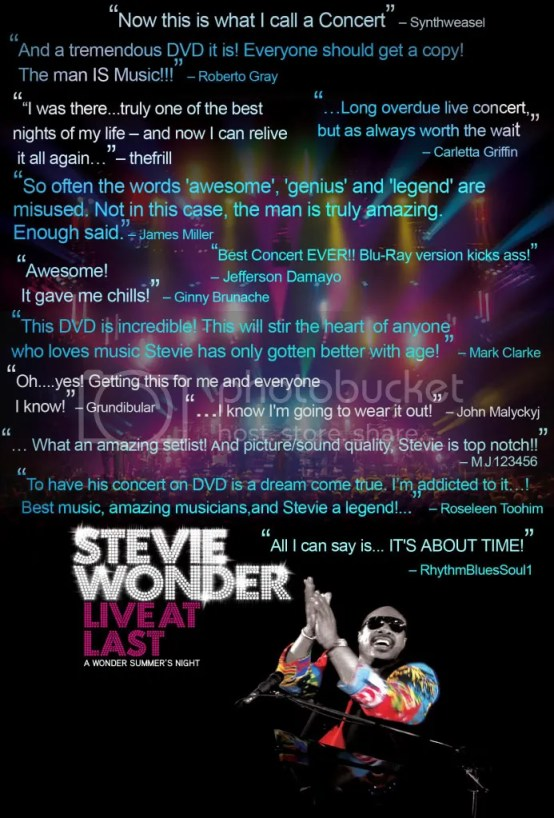 Stevie Wonder - DVD