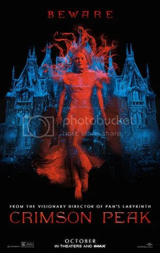 Crimson Peak, Horror, Ghost, Supernatural, Guillermo del Toro