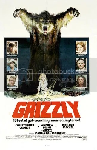 Grizzly, Horror,