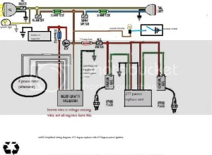 Wiring diagram for rephase  RDRZ PM Alt  Pamco ignition
