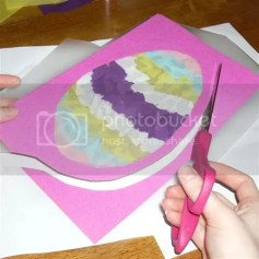Easter Crafts for Kids - Stained Glass window