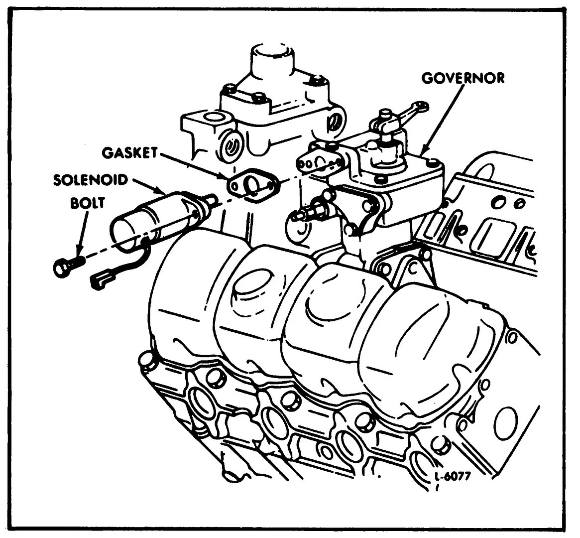 hight resolution of  splice the mech used to feed the relay with positive i took this drawing out of the service manual and it only shows one wire going to that soleniod