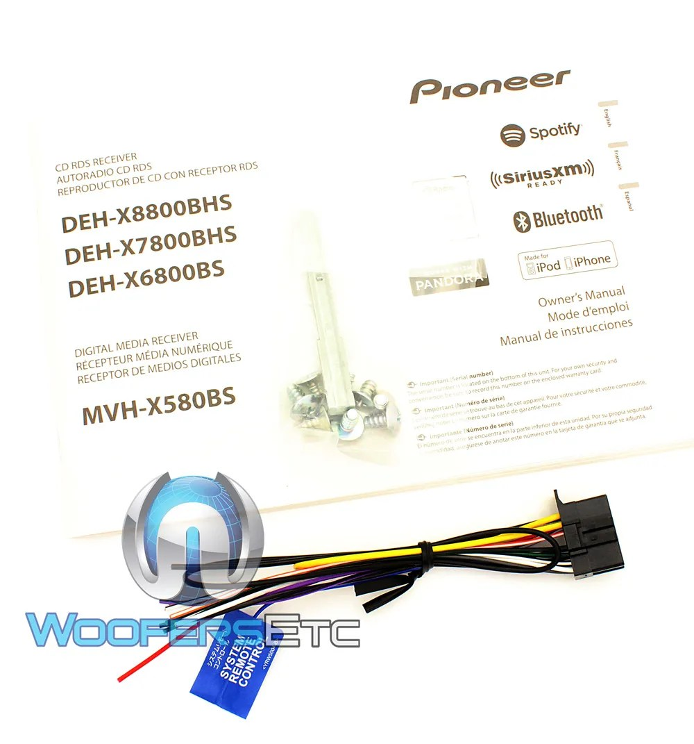 hight resolution of pioneer deh x8500bh wiring diagram
