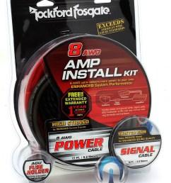 details about rockford fosgate rfk8i 8 gauge car audio subwoofer speaker amplifier wiring kit [ 798 x 1024 Pixel ]