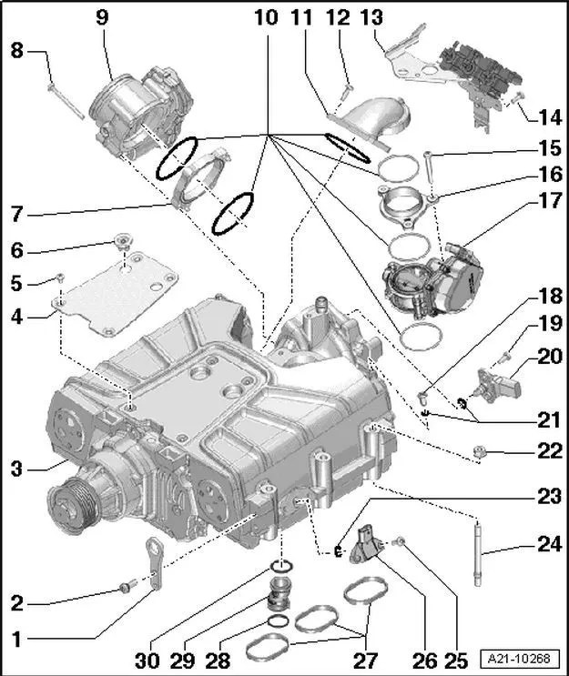 1997 Audi A6 Quattro Engine Diagram