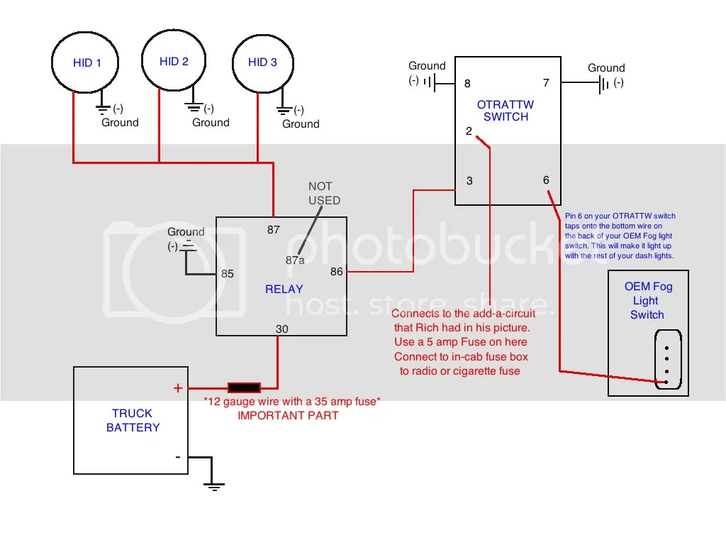 wiring diagram for hid fog lights pioneer car stereo 3 kragen 7 in attn proforce and