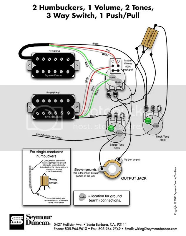 wiring guitar pickups out of phase