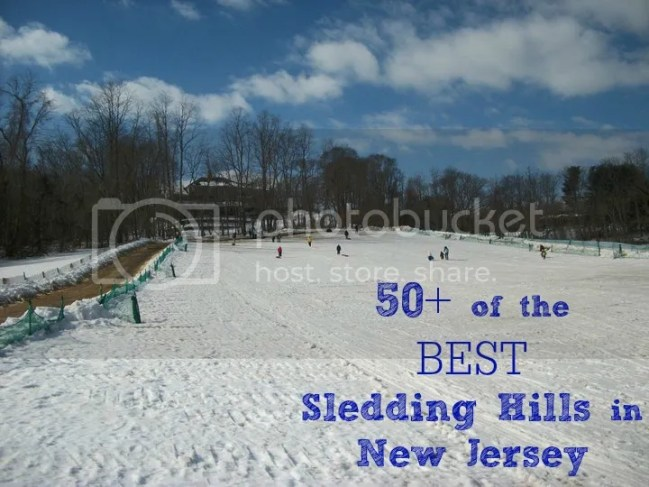 best sledding hills new jersey