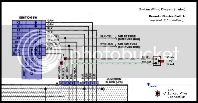 geo tracker wiring 1994 diagram