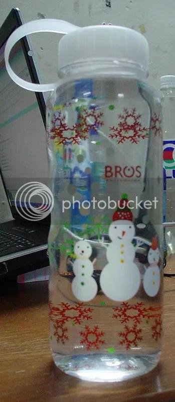My New Snowman's Bottle
