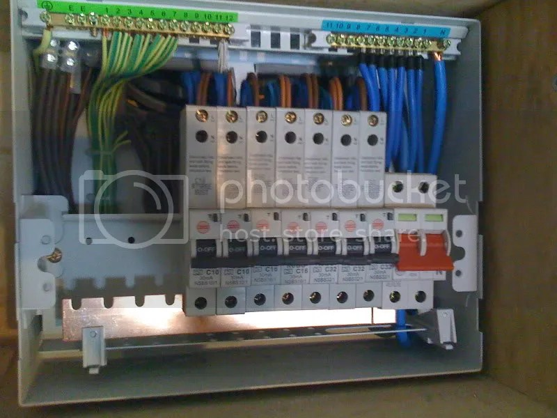 Split Bus Consumer Unit Wiring Youtube