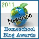 Homeschool Blog Awards Nominee Button