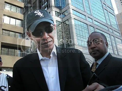 Obama is a Sinister (And a White Sox Fan)