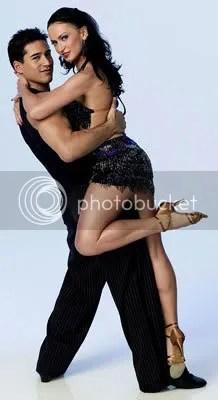 Mario Lopez and Karina Smirnoff...lucky woman...