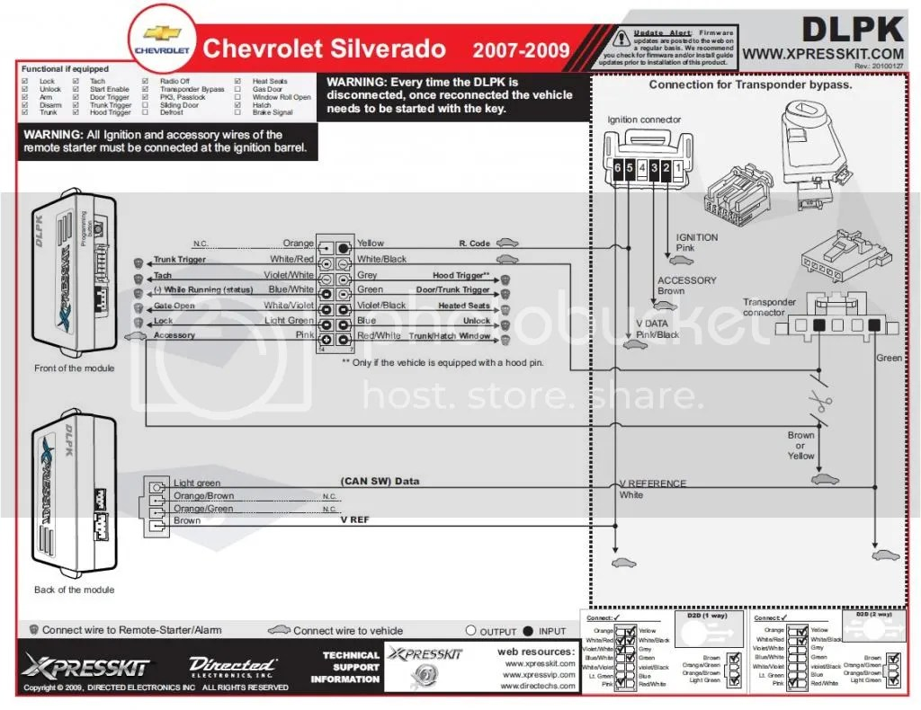Avital Remote Start Wiring Diagram Basic 4111
