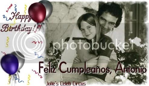 Happy Birthday Antonio