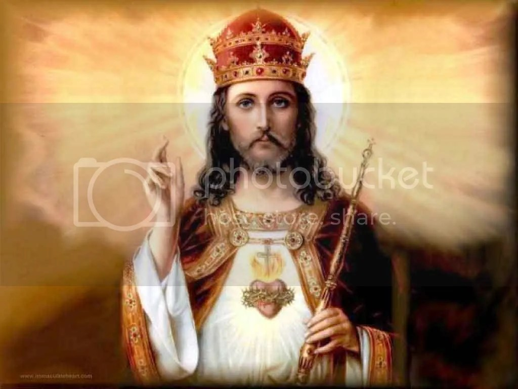 Best picture of King Jesus that I could find.