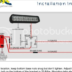 Led Light Bar Relay Wiring Diagram Kids Skeletal System Diagrams Schematic How To Wire Without Hubs 5 Pin