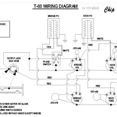 Peavey T 60 Wiring Diagram Vauxhall Vectra Radio Guitar Era And Rewiring Any Les Paul To The T60 Yields A Very Wide Palette Of New Non Gibson Tones Accomplishes All I Wrote Above