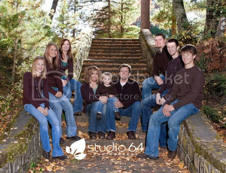 Studio 64 Photography: Outdoor Fall Family Portraits | Park Rapids Minnesota