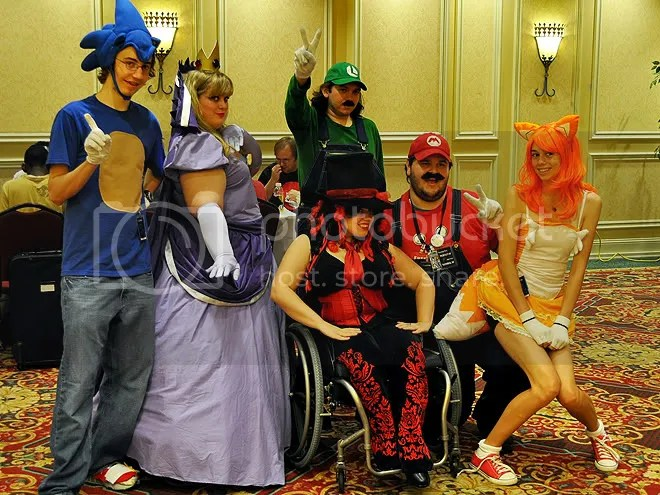 Mario and Sonic team!
