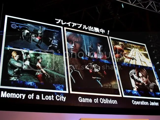 Relive Raccoon City, or go to South America