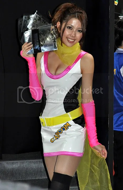 Capcom swag girl Cosplay