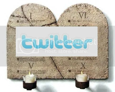 Twitter Commandments