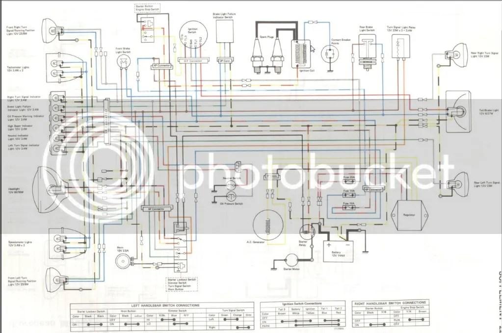 Kz900 Wireing Diagram | Wiring Diagram on