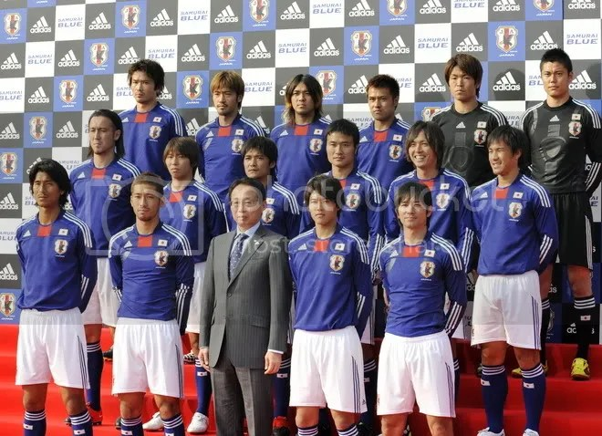 Japanese Worldcup 2010 Team