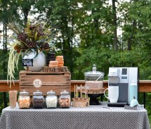 Hot Chocolate Bar Fall Entertaining #michaelsmakers