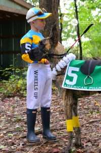 Jockey and Race Horse Costume | homemade coordinating ...