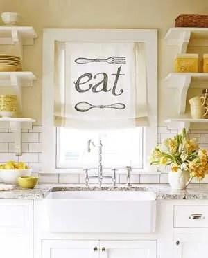 kitchen window coverings counters and cabinets treatment ideas inspiration