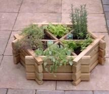 Herb Garden Inspiration & Ideas Over 50 Pots Planters