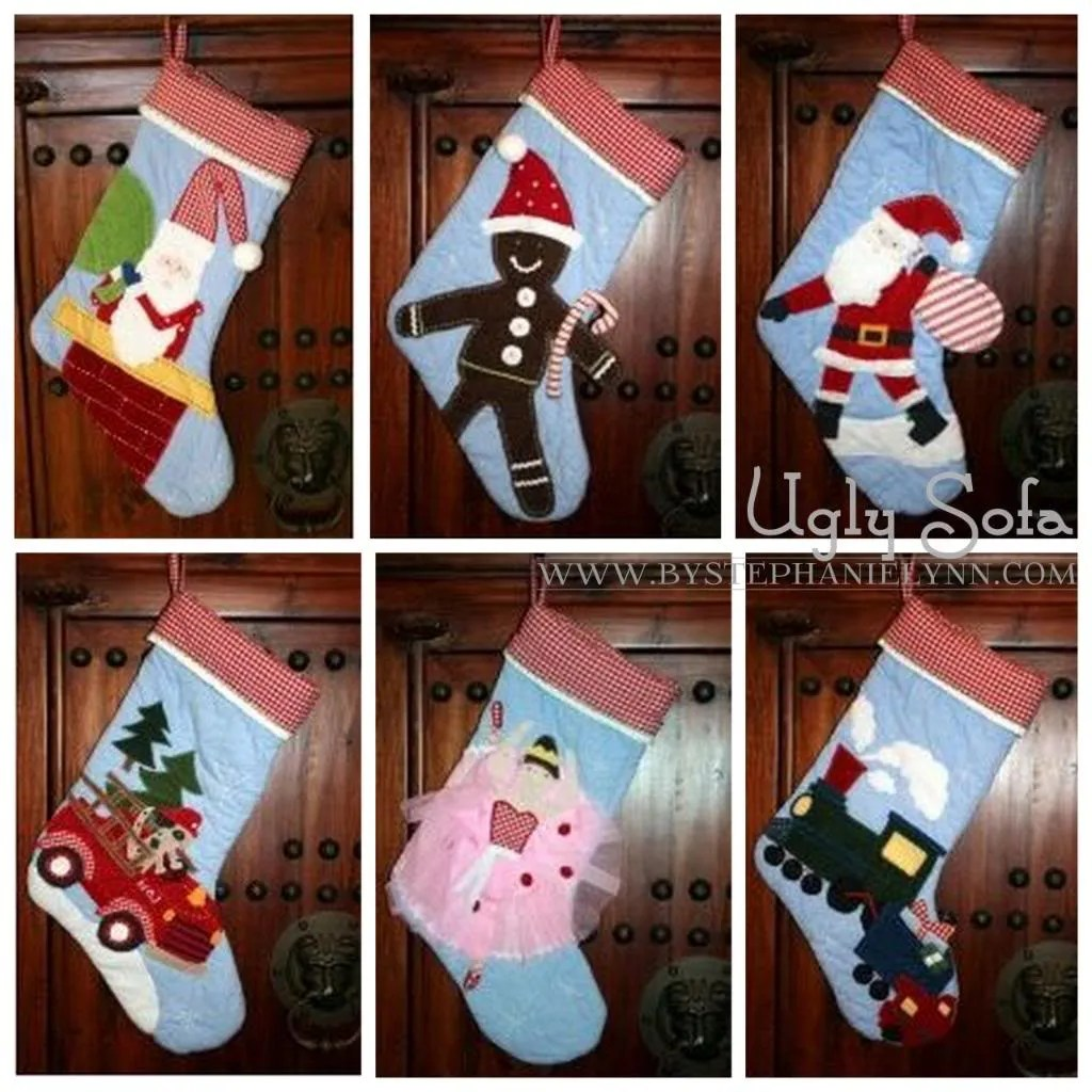 Holiday Major Brand Name Quilted Stocking Giveaway from