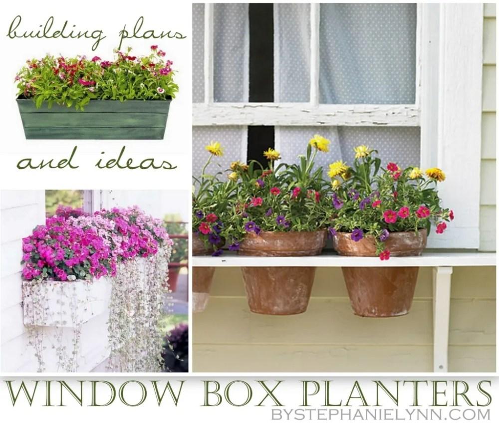 medium resolution of ten diy window box planter ideas with free building plans tuesday ten
