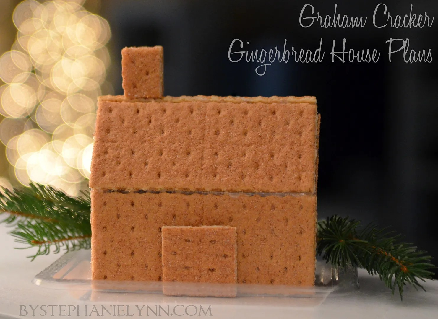 How To Make Glued Graham Cracker Gingerbread Houses Quick & Easy