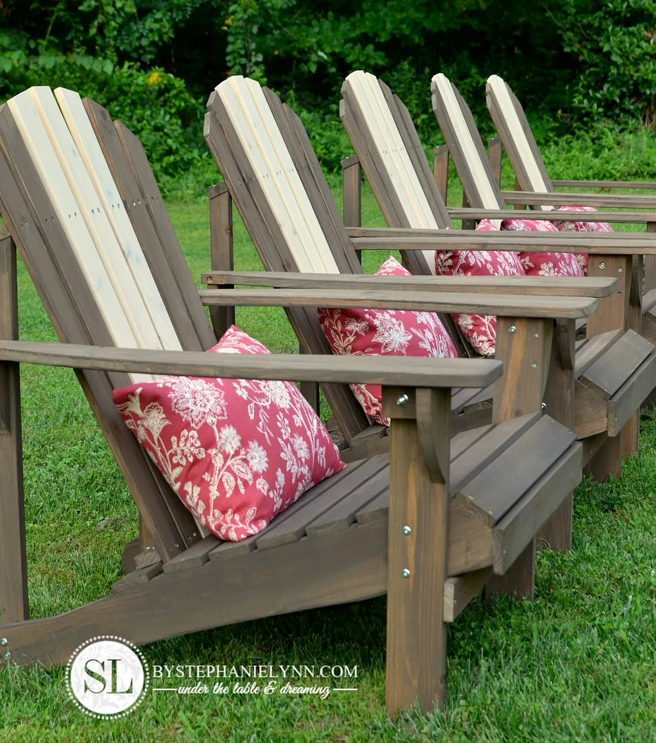 Best Stain For Pine Adirondack Chairs