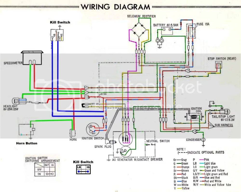 medium resolution of 1978 honda ct90 wiring diagram wiring diagram sample mix honda ct90 trail 90 1978 usa wire