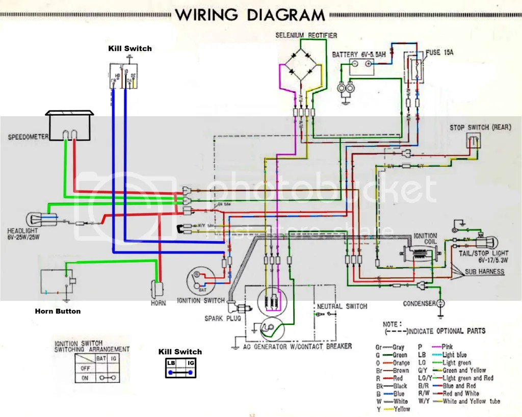 hight resolution of 1978 honda ct90 wiring diagram wiring diagram sample mix honda ct90 trail 90 1978 usa wire