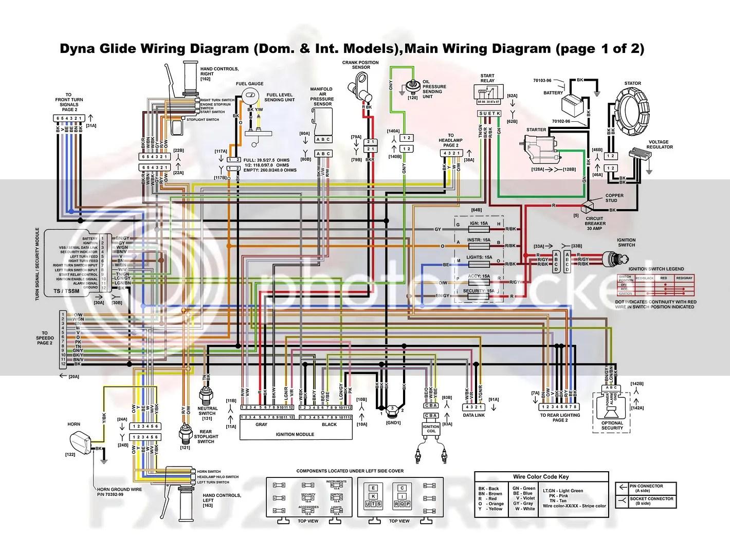 Harley Road King Wiring Diagram | Wiring Diagram on
